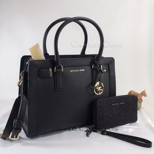 NWT Michael Kors Dillon Satchel And Wallet